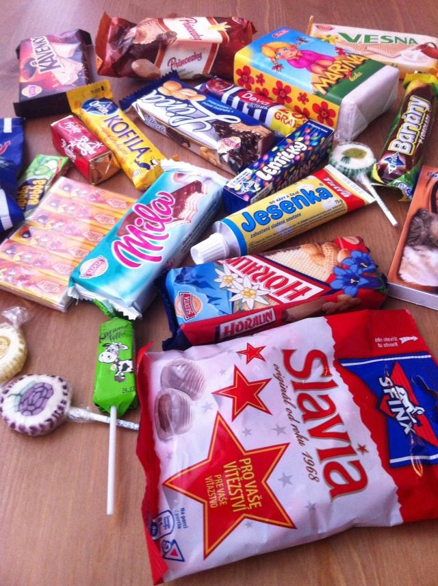 My Mikuláš Day presents: Cmmunist-era sweets!