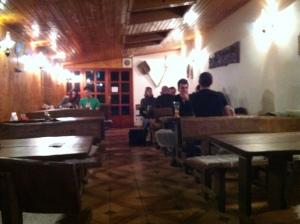 Inside the Pivobar...