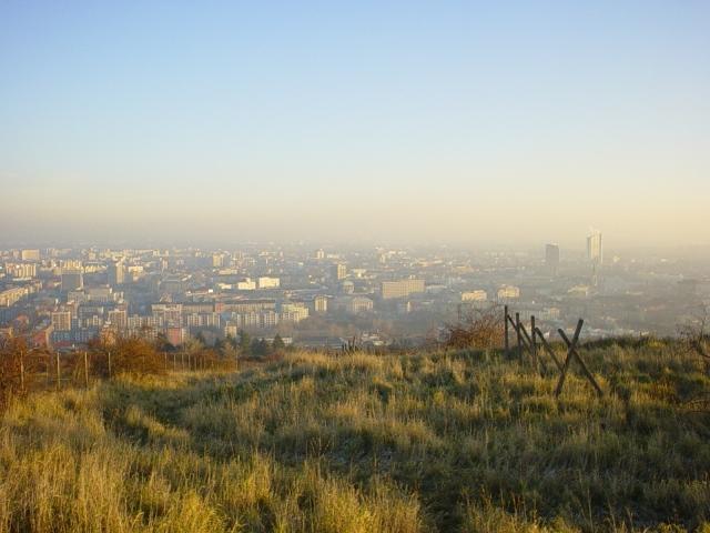 Bratislava from Koliba