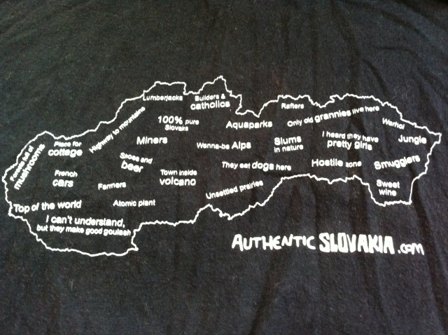 Authentic Slovakia's Map of Slovakia