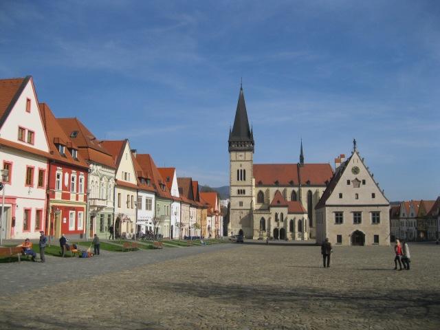 Bardejov's Impressive Central Square