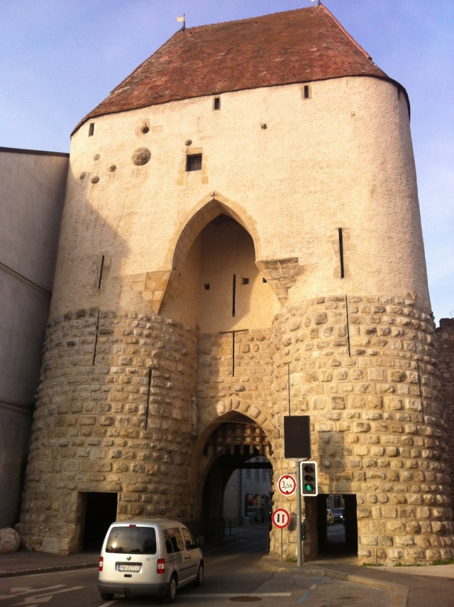 One of Hainburg's mighty town gates