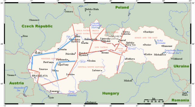 Regions of Slovakia on Englishmaninslovakia.com