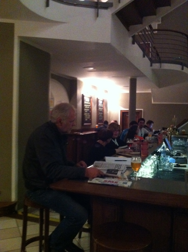 Meštiansky Pivovar's ground floor bar