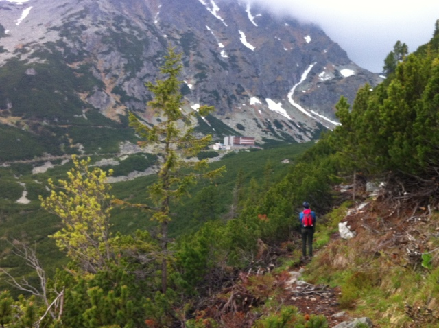 The wild route between Slieszky Dom and Popradské Pleso
