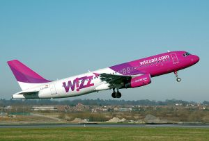 Wizz Air take-off!