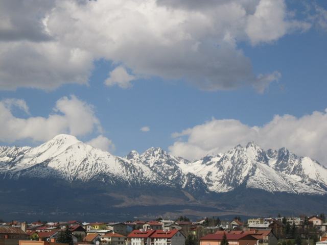 The High Tatras as Seen From Poprad