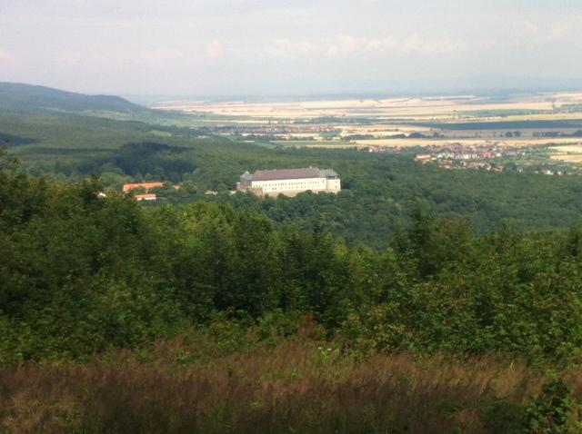 Hrad Červený Kameň on the edge of the Small Carpathians