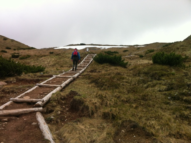 Hiking in the Tatras can be tough, with intense quickly-changing weather