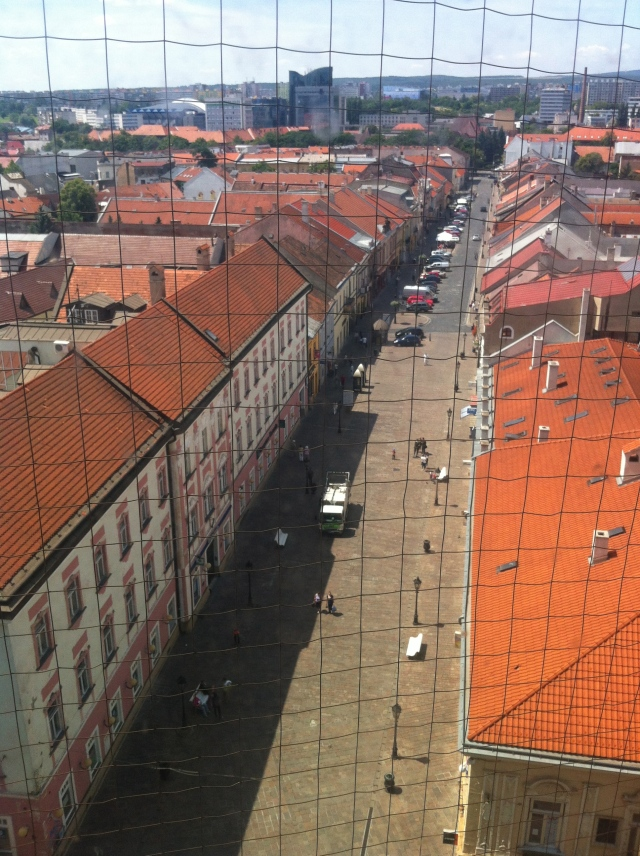 Kosice from the cathedral, by englishmaninslovakia