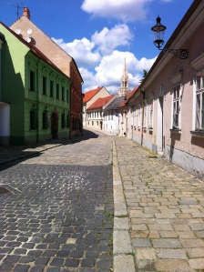 Bratislava Old Town in all its colour… ©englishmaninslovakia.com