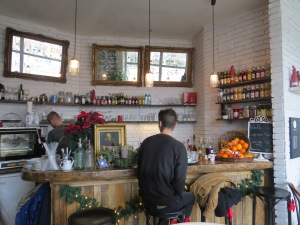 The bar at kava.bar ©englishmaninslovakia.com
