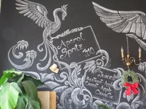 Blackboard art… ©englishmaninslovakia.com