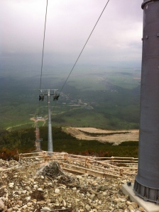 The Cable Car up from Tatranská Lomnica ©englishmaninslovakia.com