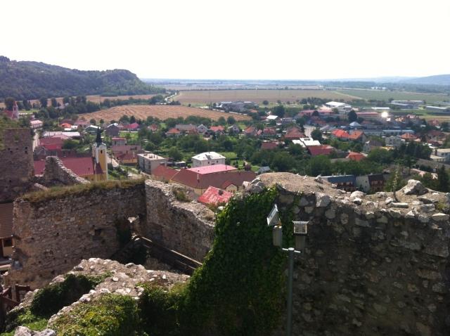 Beckov view… ©englishmaninslovakia.com