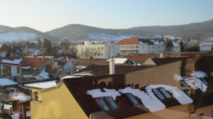 View from the top of the Hotel Majolica ©englishmaninslovakia.com