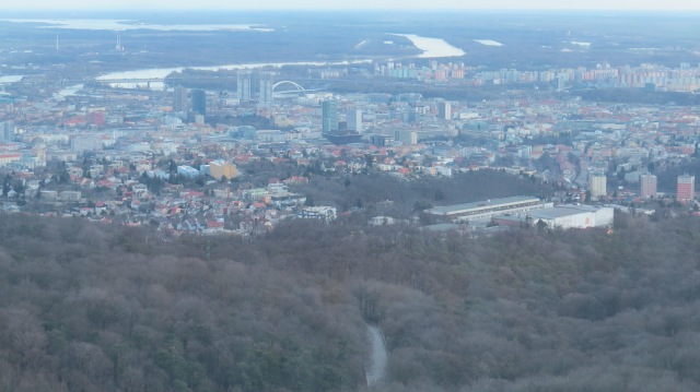 Bratislava From Above  ©englishmaninslovakia.com
