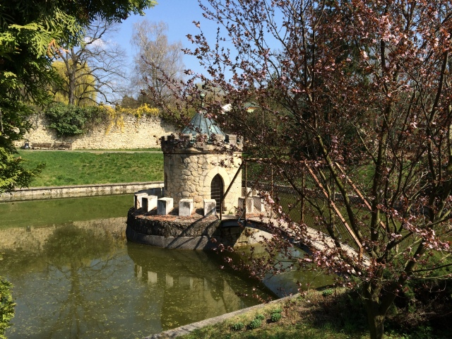 All along the Watchtower… Bastion in Bojnice's grounds ©JamesSilvesterAuthor.com