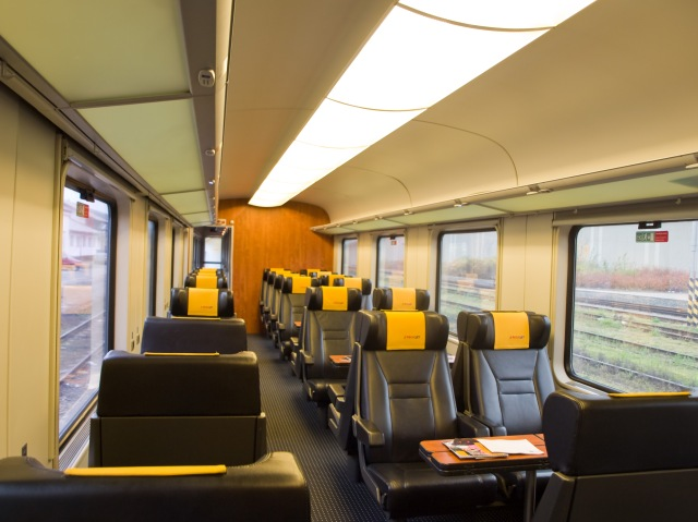 Inside a RegioJet Train… ©Jagro