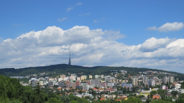 Bratislava skyline from the Stefanikova Magistrala ©englishmaninslovakia.com
