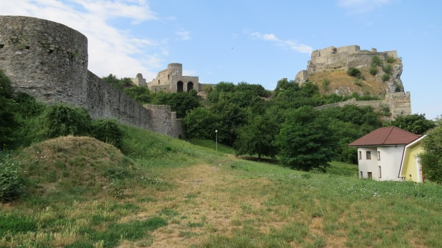 The beginning of the walk at Devin Castle ©englishmaninslovakia.com